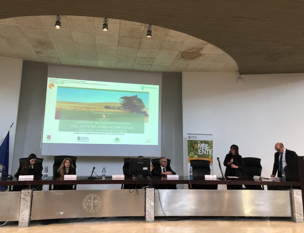 Formazione, incontro sulla certificazione di qualità nell'agroalimentare dal piano formativo Icaro, finanziato da Fondimpresa al ruolo dell'università